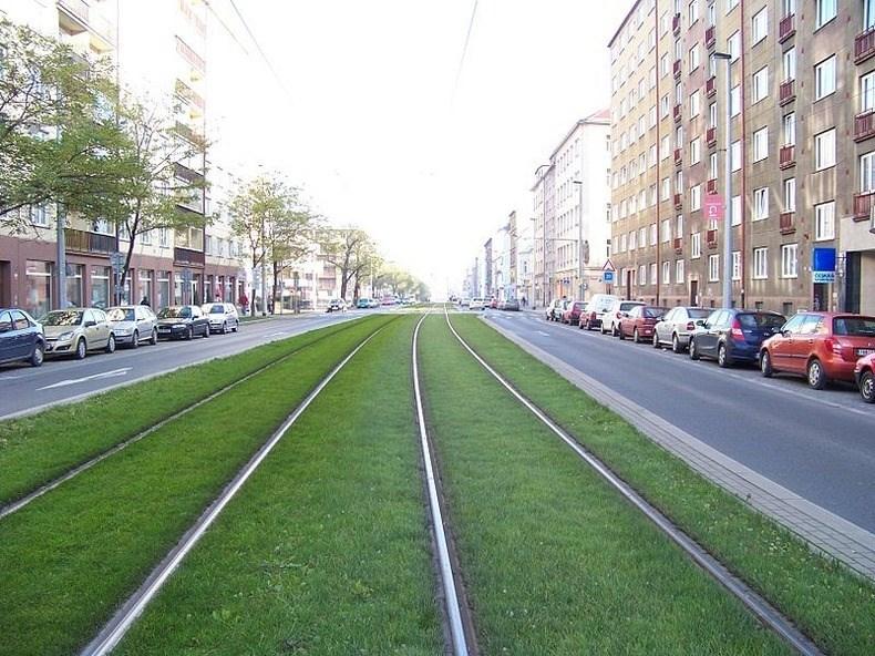 Tramvayla 'Yeşil yolculuk'