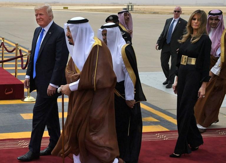 Trump ilk yurtdışı ziyaretini Suudi Arabistan'a yapıyor