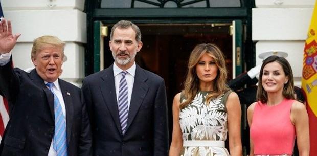 Trump, İspanya Kralı 6. Felipe'yi ağırladı