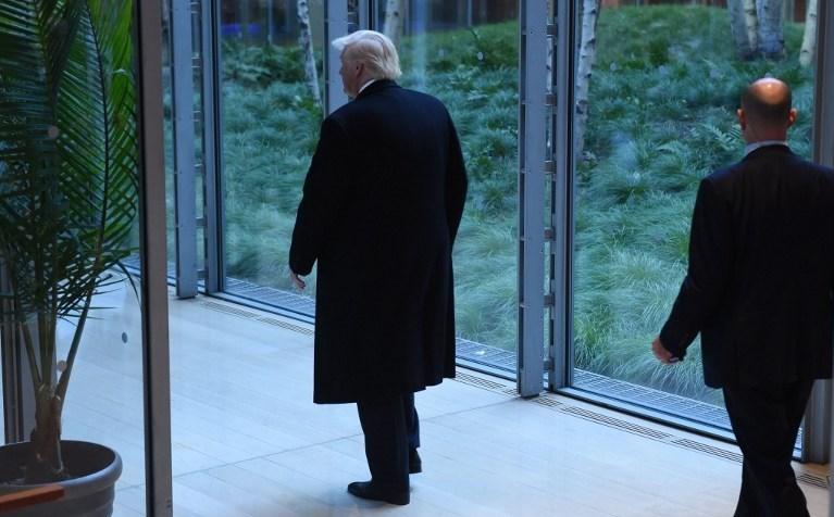 Trump göreve başlamasına sayılı günler kala Avrupa'dan iki gazeteye röportaj verdi.