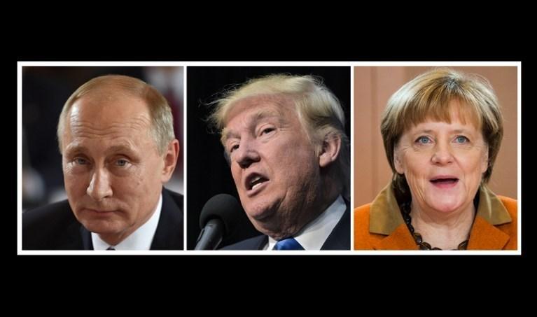 ABD Başkanı seçilen Donald Trump, göreve Putin ve Merkel'e güvenerek başlayacağını ve ön yargısı olmadığını söyledi.