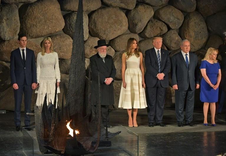 ABD Başkanı Trump Ortadoğu'da Suudi Arabistan'ı ziyaret ettikten sonra İsrail'e geçmişti. Trump, Netanyahu tarafından görkemli bir törenle karşılanmıştı.