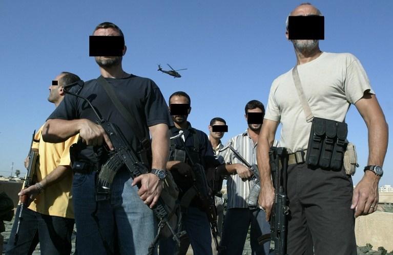 Amerikan güvenlik şirketi Blackwater'a bağlı güvenlik güçleri 2007'de Bağdat'ta katliam yaparak 17'i sivili öldürmüştü.