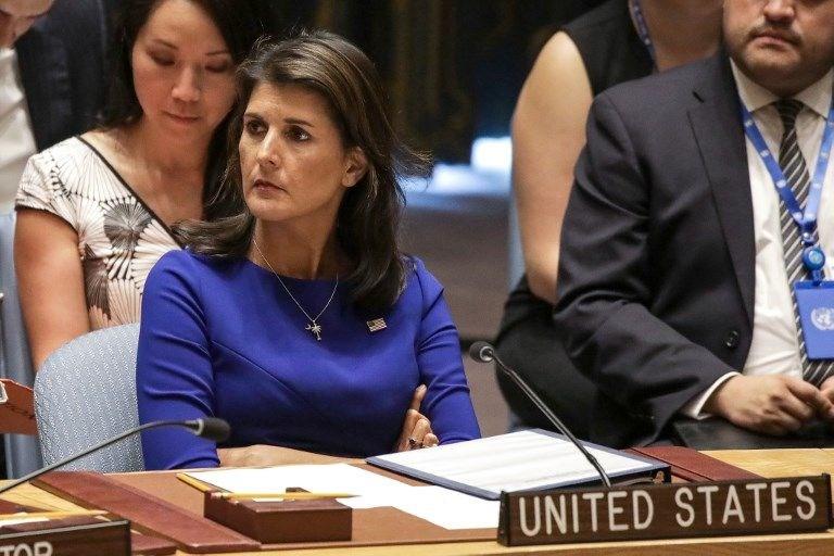 ABD'NİN BM ÖZEL TEMSİLCİSİ NIKKI HALEY: