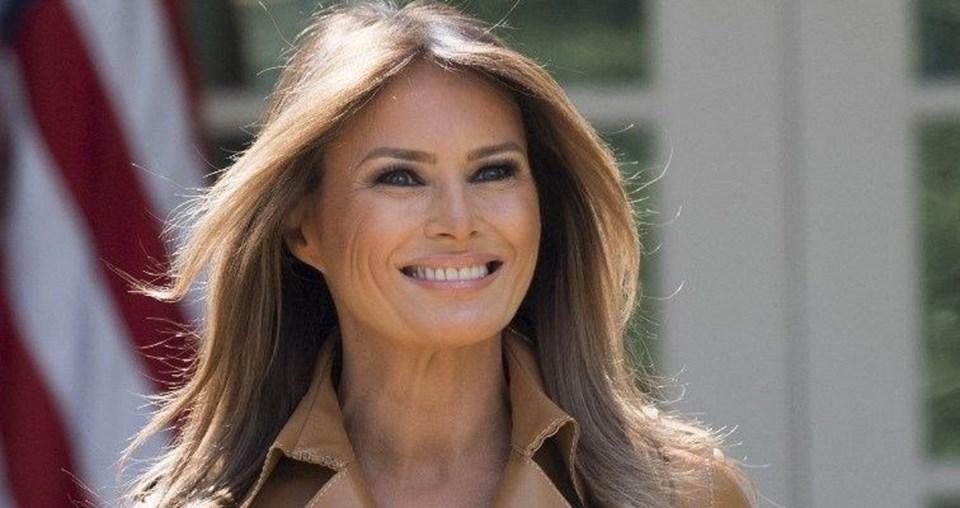 ABD Başkanı Trump'ın eşi Melania Trump (49)