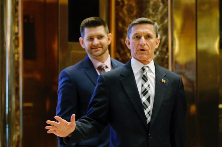 Michael Flynn (Trump Tower'dayken)