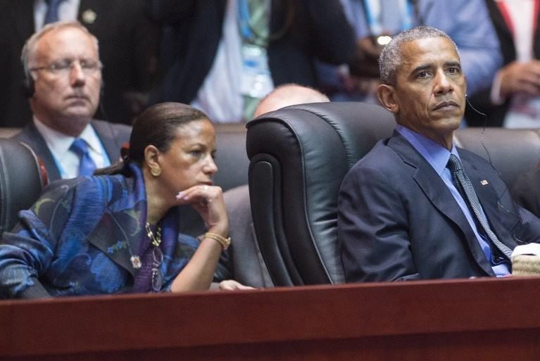 Obama ve Ulusal Güvenlik Danışmanı koltuğunu teslim ettiği Susan Rice