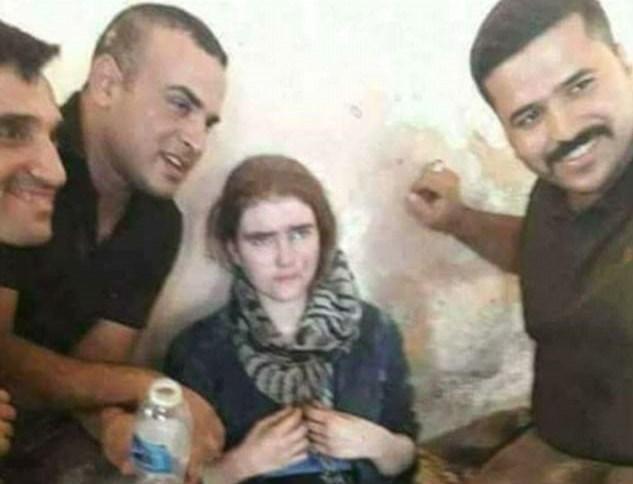 16 yaşındaki Alman lise öğrencisi Linda Wenzel olduğu iddia edilen genç kız Musul'da bir tünelde bomba yeleğiyle yakalanmıştı.