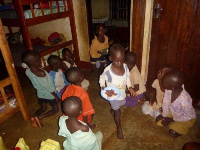 Uganda'da bir yetimhane