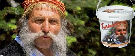 Türk yoğurdundaki fotoğrafa dava