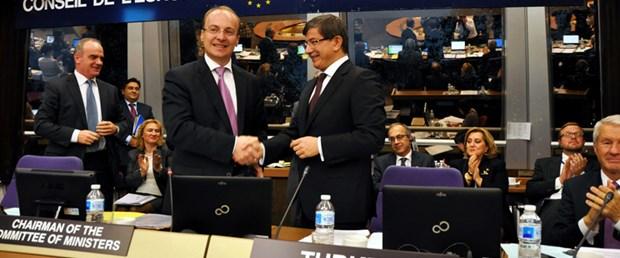 Türkiye Avrupa Konseyi dönem başkanı