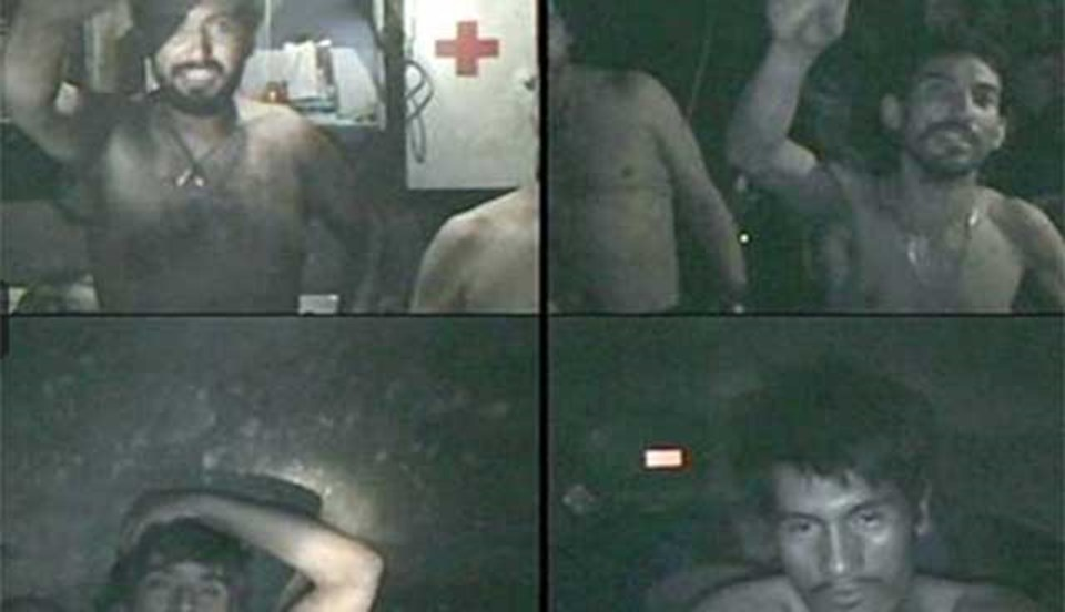 Şili'de kaçış odasına sığınan madencilerin yaşadığı17 gün sonra anlaşılmıştı.