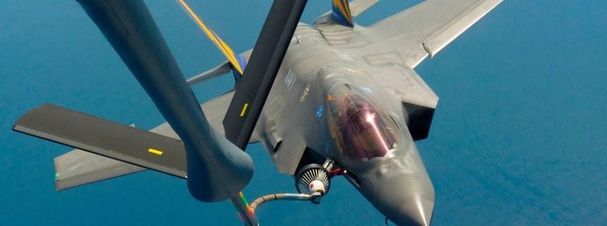 F-35 savaş uçağı tatbikatta lider rol üstlenecek