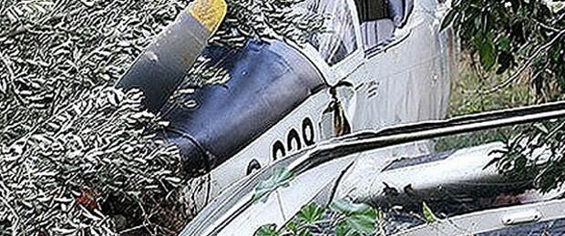 Uçak düştü: 9 ölü