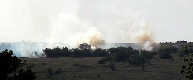 Ukrayna'da uçak düşürüldü