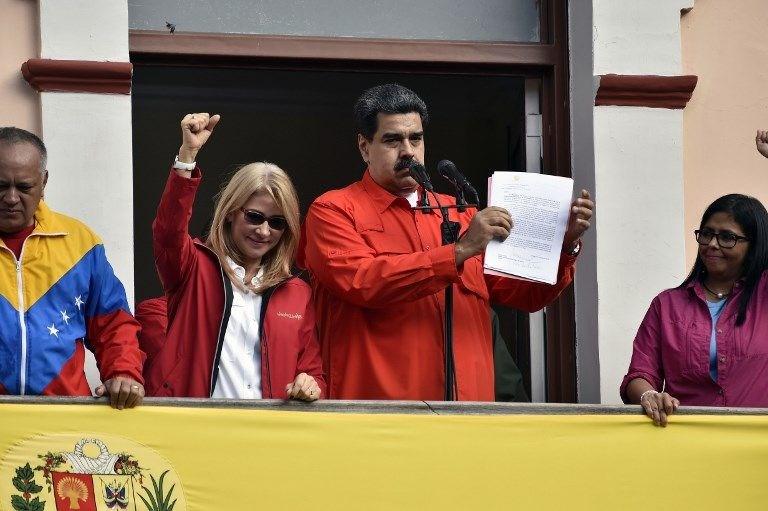 RUSYA, MEKSİKA VE BOLİVYA'DAN MADURO'YA DESTEK