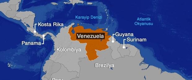 VENEZUELA harita
