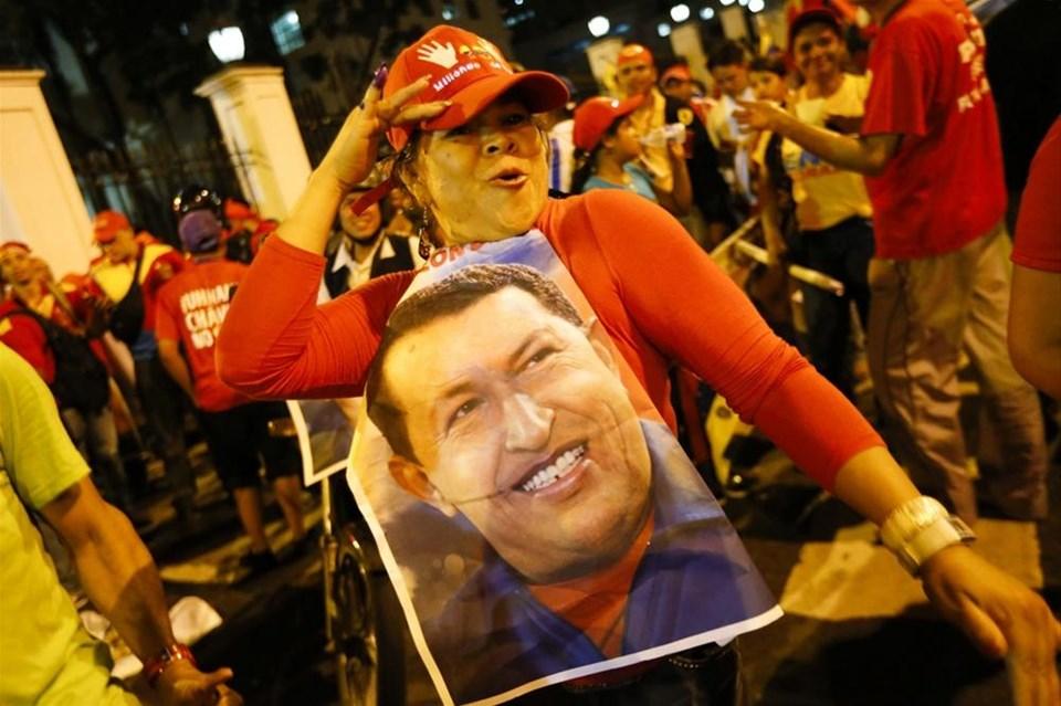 Venezuella'nın lideri Chavez