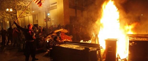 'Wall Street'e müdahale: 80 gözaltı