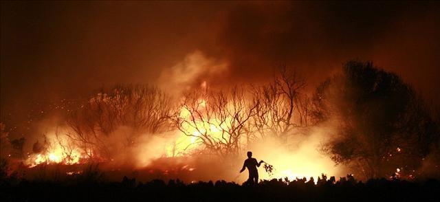 Yangın Atina'yı tehdit ediyor