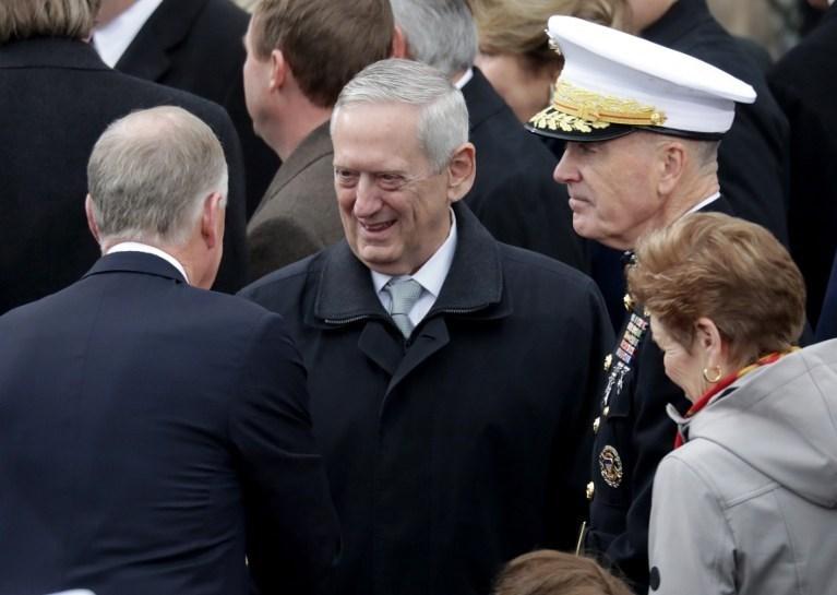 ABD'nin yeni savunma bakanı James Mattis