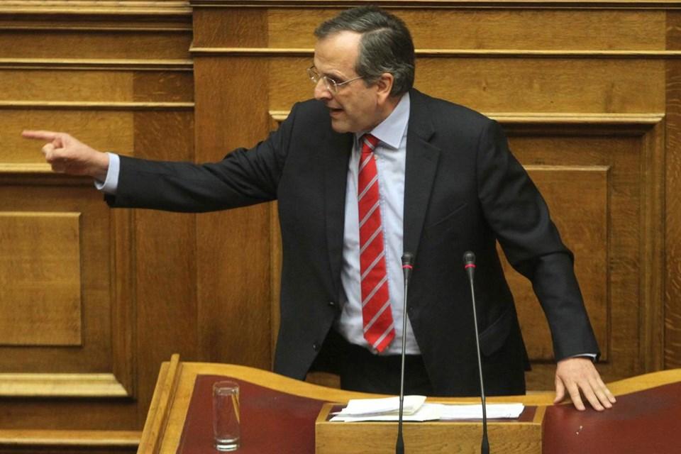 Eski başbakan Samaras