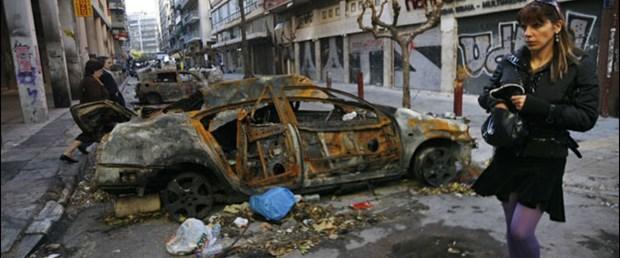 Yunanistan'da olaylar devam ediyor