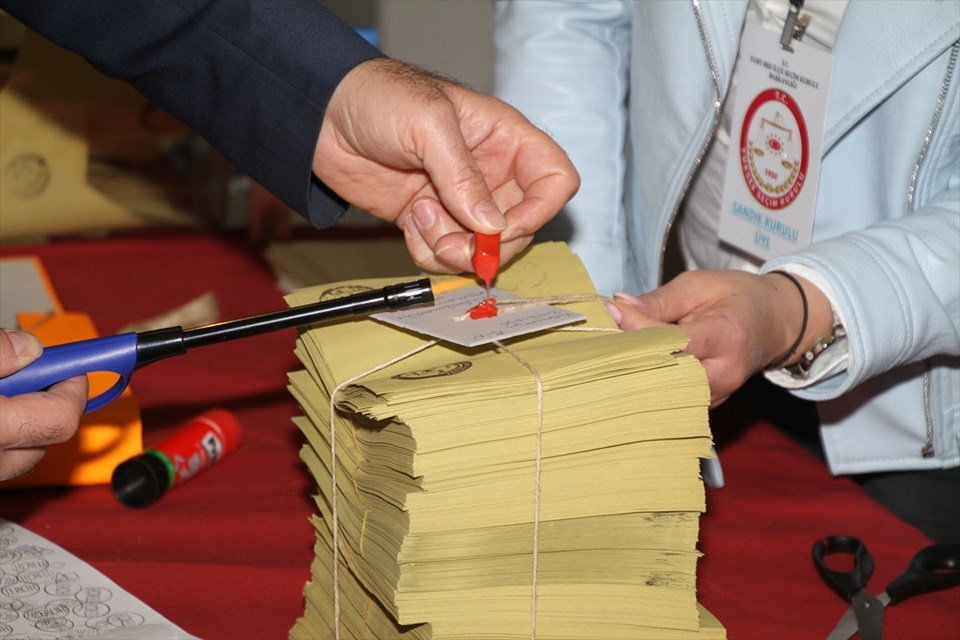 Yurt dışında oy verme işlemi sona erdi…
