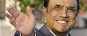 Zerdari'ye telefon şakası, ülkeyi alarma geçirdi