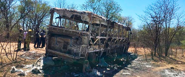 zimbabwe otobüs