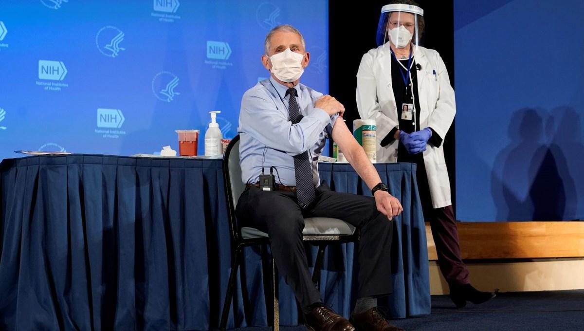 ABD'li Dr. Fauci: Nüfusun yüzde 90'ının aşılanması gerekebilir