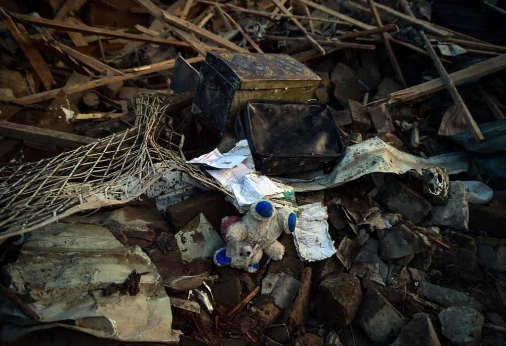 Ermenistan'ın Gence'ye füze saldırısının şiddeti gün ağarınca ortaya çıktı - 9