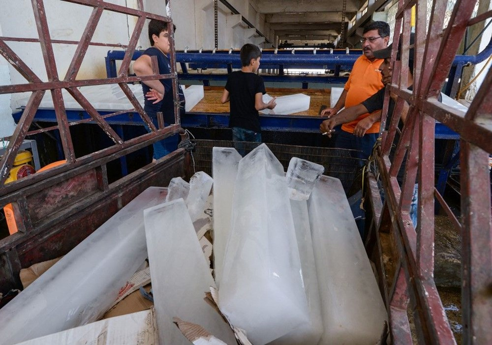 Temperature exceeded 50 degrees in the shade in Iraq: Ice demand exploded - 9