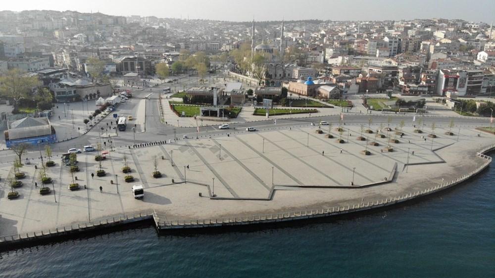 Tam kapanma sonrası Kadıköy ve Üsküdar'da meydanlar sessizliğe büründü - 2