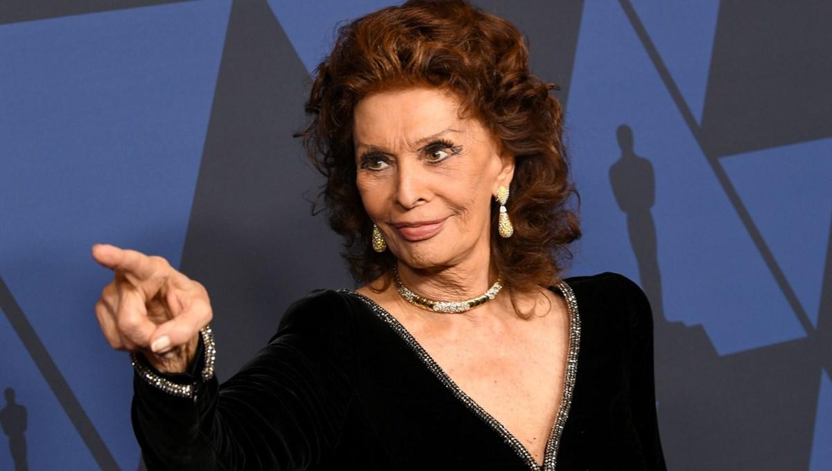 86 yaşındaki Sophia Loren: 16 yaşında hissediyorum ve emekli olmayacağım