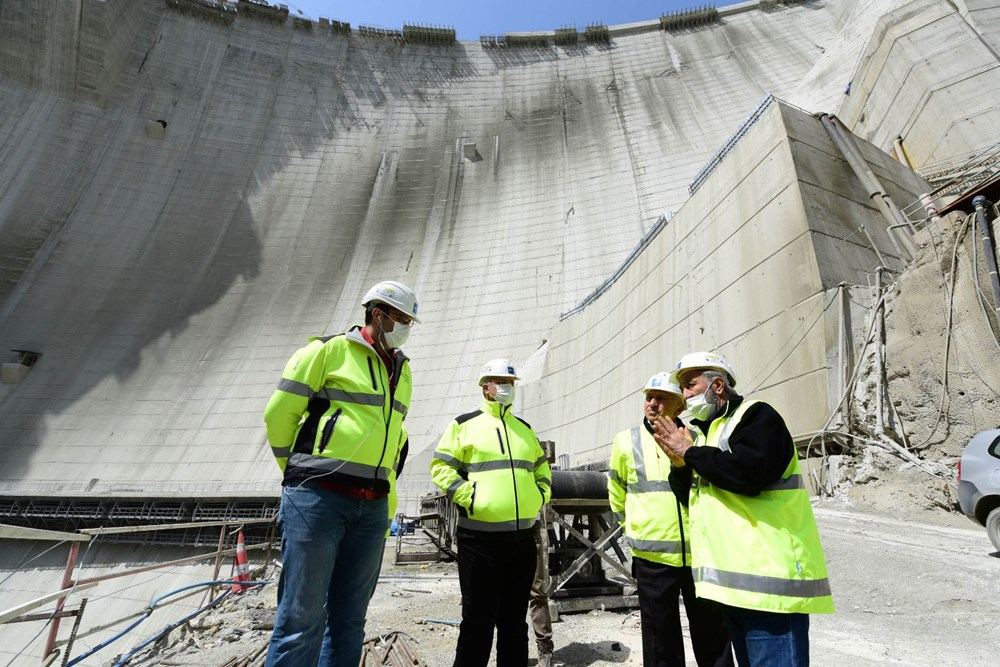 Türkiye'nin en yüksek barajında ekonomiye yıllık 2 milyar TL katkı - 7