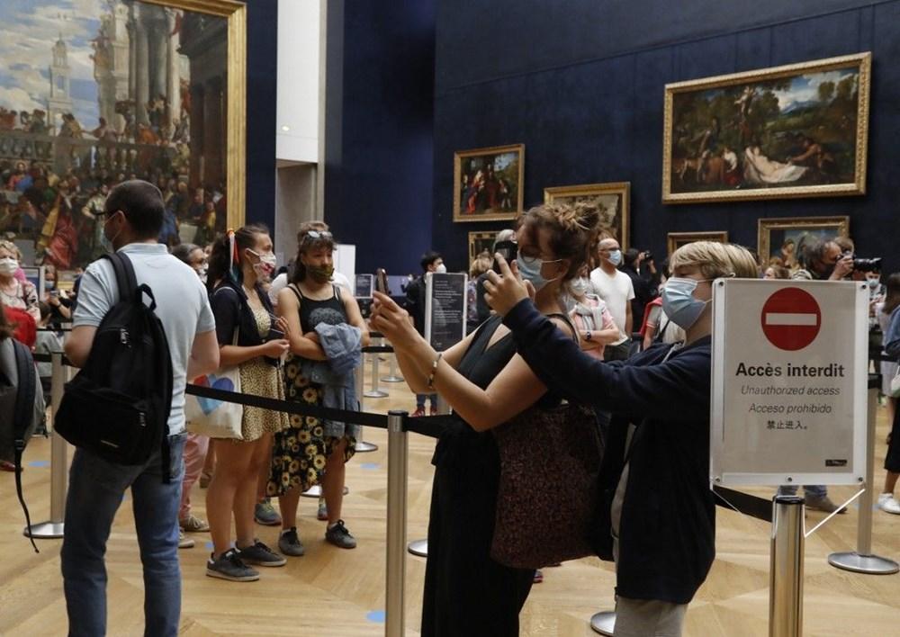 Louvre Müzesi yeniden açıldı (40 milyon euro'luk kayıp) - 11