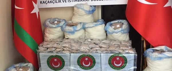 Limanda 24 milyon lira değerinde uyuşturucu ele geçirildi