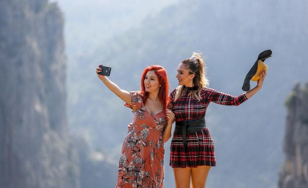 Türkiye'nin cennet köşesi turist akınına uğruyor! İskandinav ülkelerinin fiyortlarından farksız... - 8