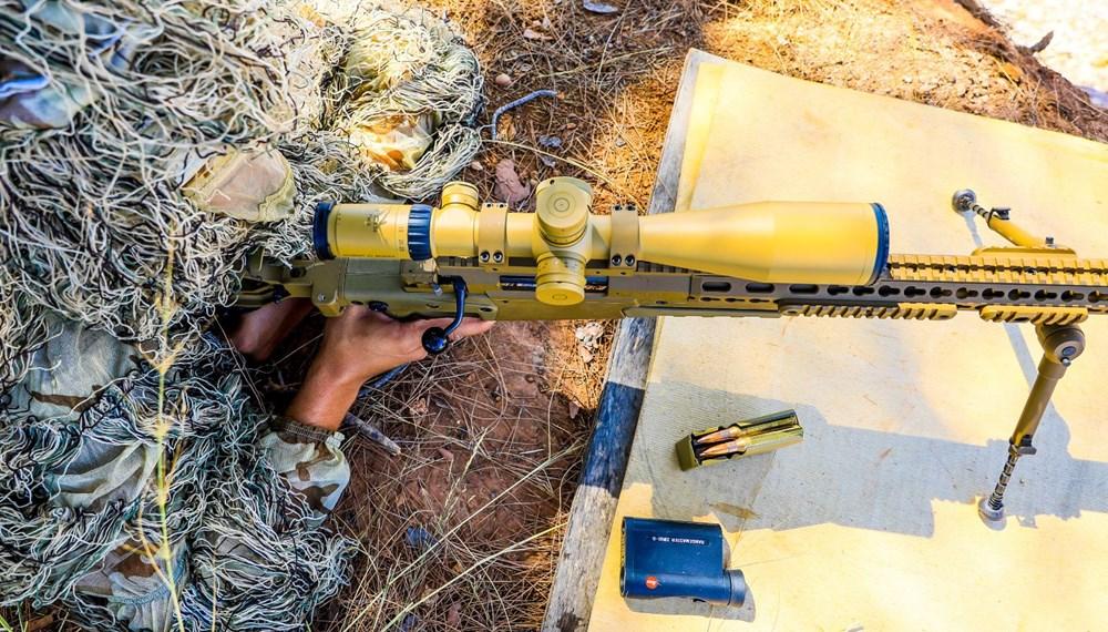 Özel Harekat'tan 35 derece sıcakta zorlu eğitim: Yerli silah 'Çılgın kız' dikkat çekti - 9