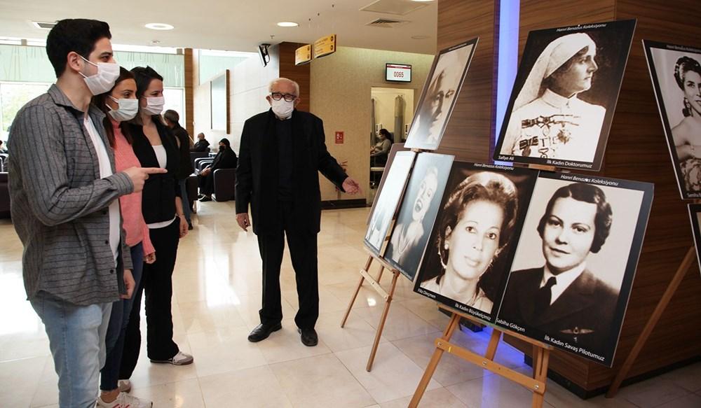 Cumhuriyet'in Anıt Kadınları Sergisi 8 Mart'ta Sanatseverlerle Buluştu