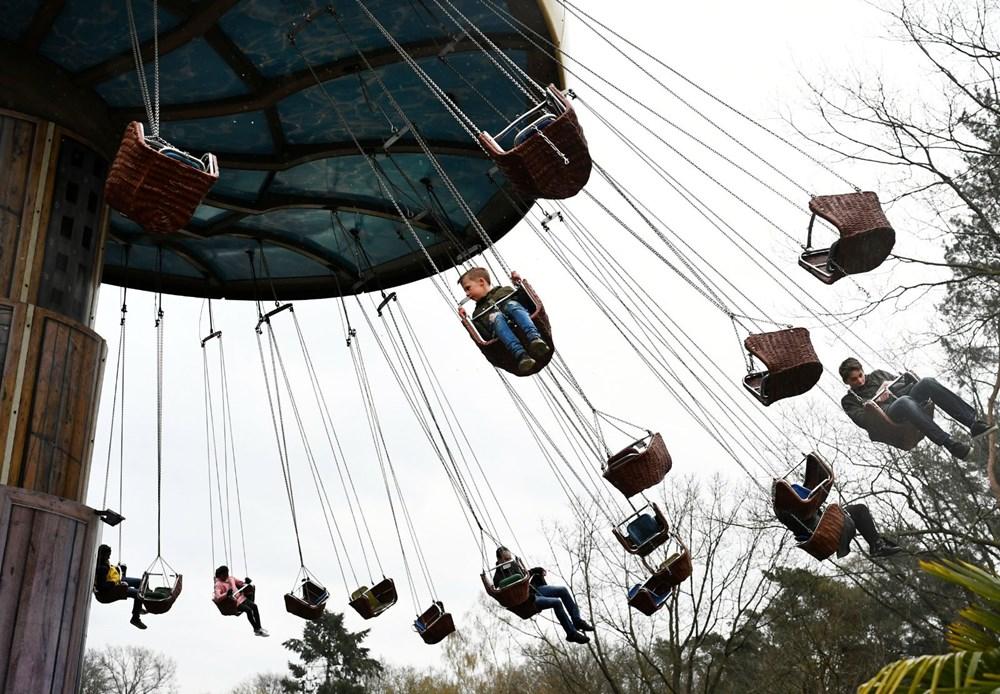 Hollanda'da eğlence parkları yeniden açıldı - 6