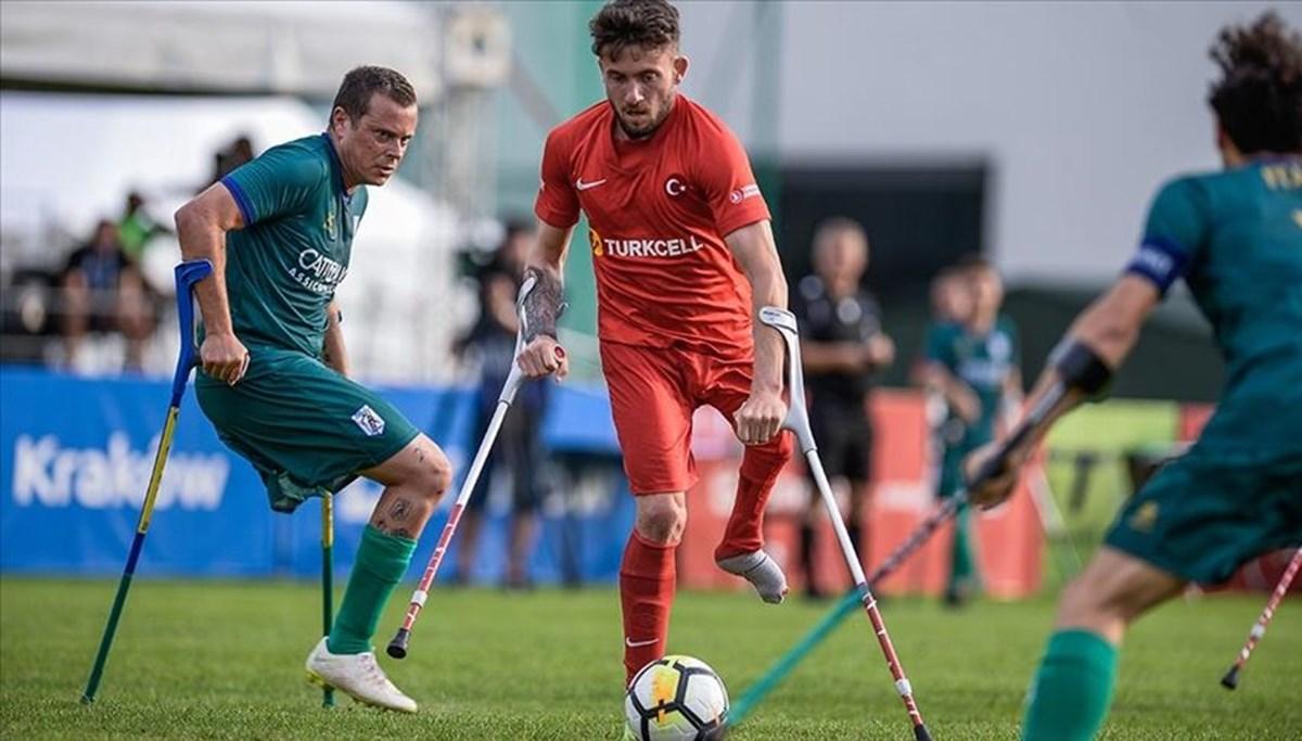 Ampute Futbol Milli Takımı, Avrupa Şampiyonası'nda finale yükseldi