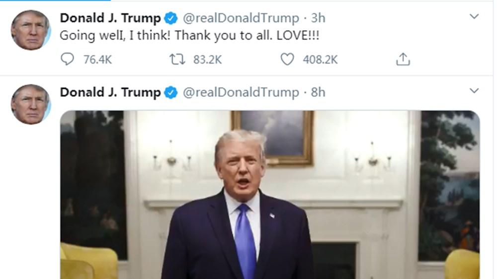 Twitter'dan Trump'ın corona virüsten ölmesini dileyen paylaşımlara yasak - 2