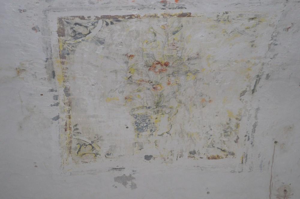 Tarihi camideki restorasyonda Osmanlı motifleri ortaya çıktı - 5