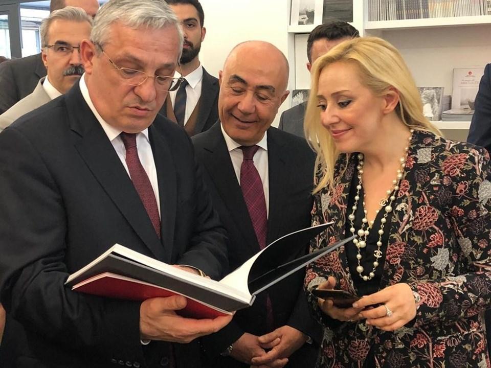 Türkiye'nin Paris Büyükelçisi İsmail Hakkı Musa, Doğuş Grubu CEO'su Hüsnü Akhan ve Cumhurbaşkanı Başdanışmanı Fecir Alptekin