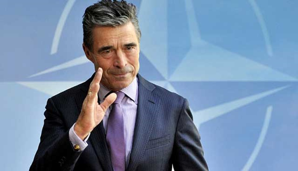 NATO Genel Sekreteri Rasmussen'den Rusya'ya uyarı.