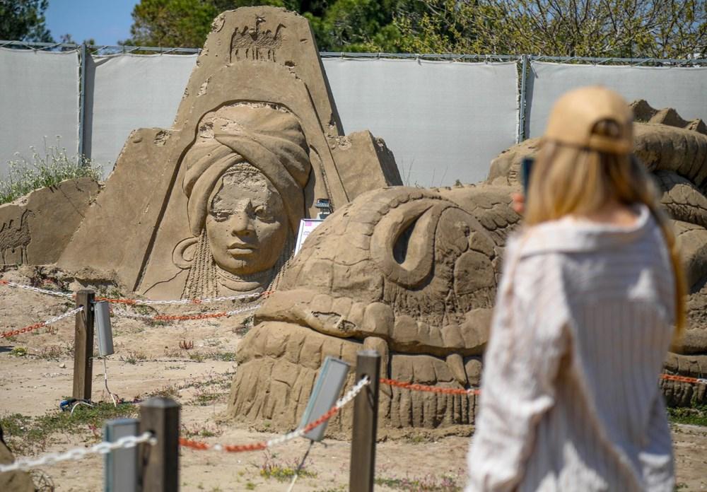 Atlantis, kum heykellerle canlanacak - 3