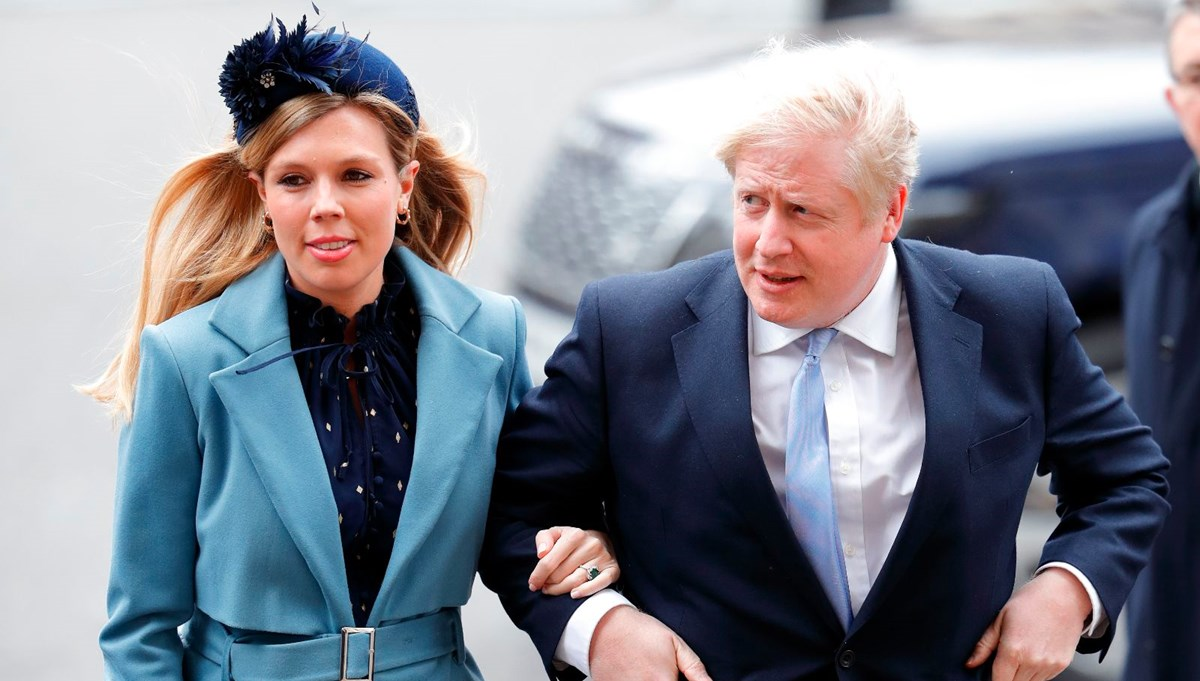 Boris Johnson'ın kayınvalidesi başbakanlık konutuna yerleşti