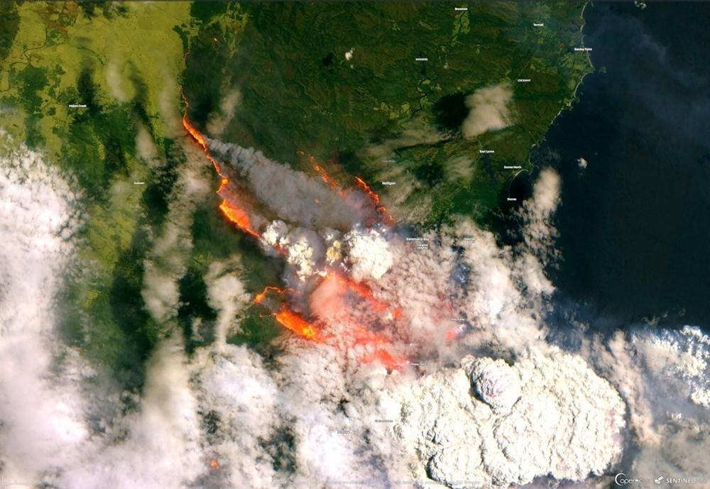 NASA Ankara'dan fotoğraf paylaştı (Astronotların gözünden gezegenimiz) - 44